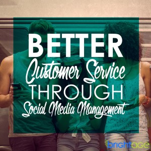 Your business cannot always provide customer service through social media, but there are aspects of customer service that your business can provide through social media management.