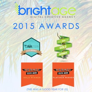Bright Age Distinguishes Itself as Top Online Marketing Agency with 4 Awards in 2015