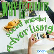 reasons why restaurants use social media advertising