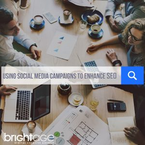 social media to enhance seo