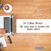 social media agency - metrics to grow brand